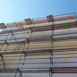 фото Утепление фасадов на лесах Днепр, услуги эко фасада