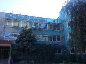 утепление зданий пенопластом утепление школы тендер Эко фасад Днепр