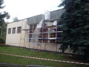 Утепление пенопластом толщина 100 мм - фото работ в процессе эко фасад Днепр
