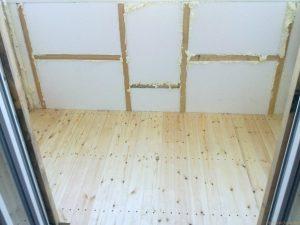 фото какой толщины нужен пенопласт для утепления балкона