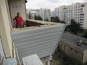 внешний вид какой толщины нужен пенопласт для утепления балкона снаружи