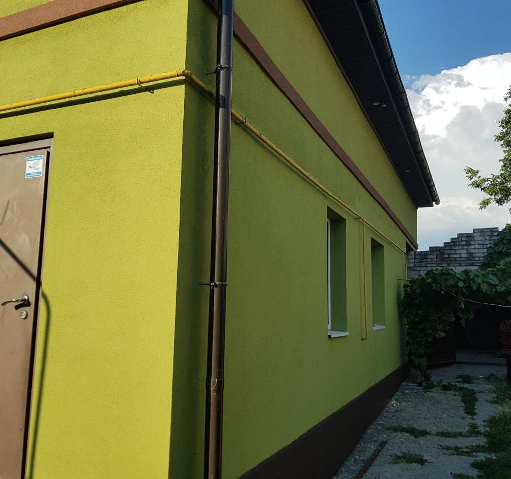 утепление фасада дома в Днепре, Эко Фасад