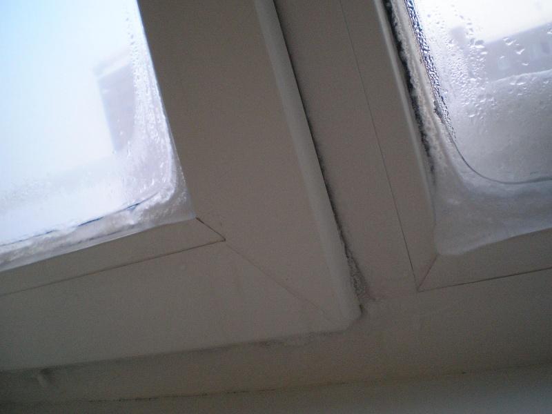 Потеют окна после утепления фасада