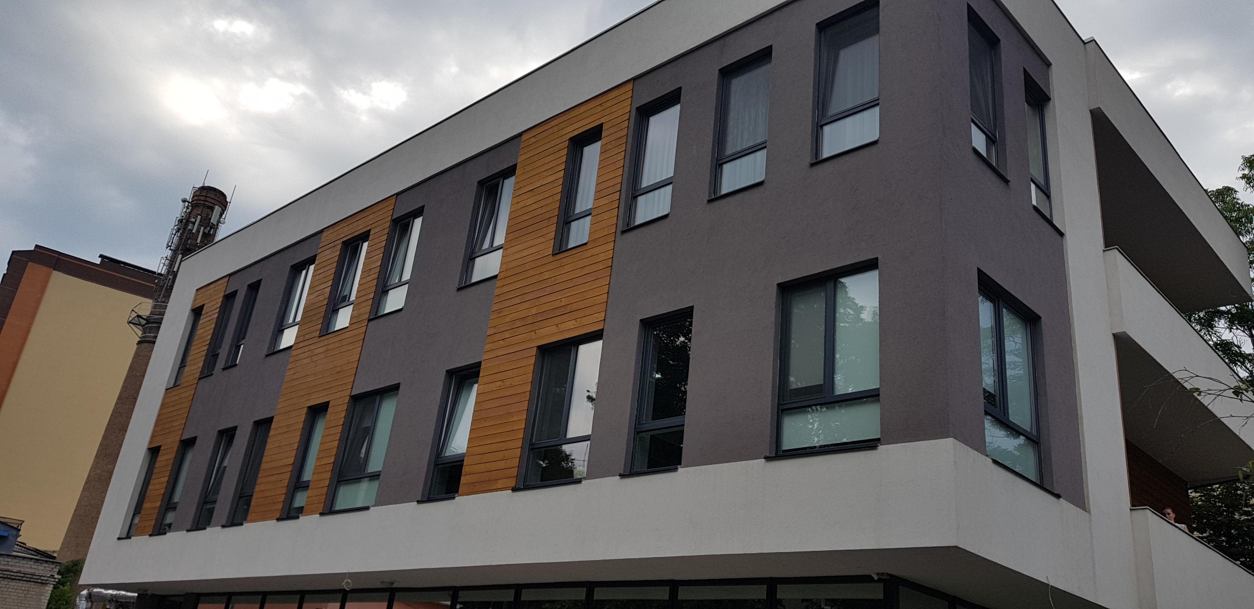 Вентилируемый фасад монтаж в Днепре